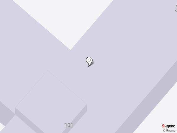 Детский сад №70 на карте Нижнекамска