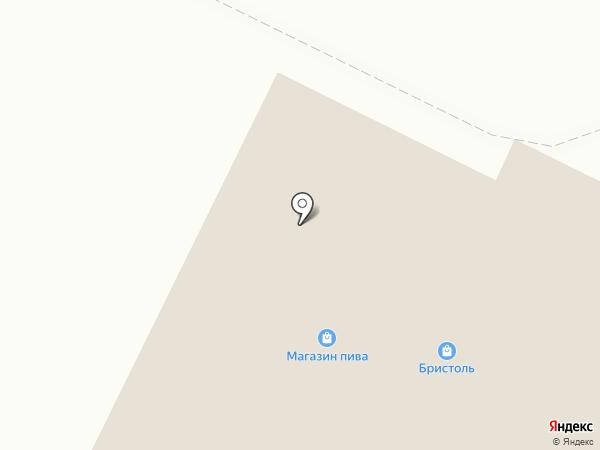 Бристоль на карте Нижнекамска