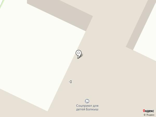Балкыш на карте Нижнекамска