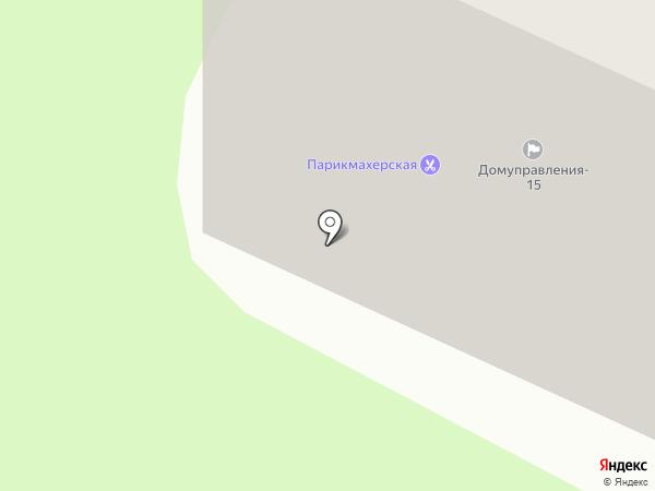Феникс на карте Нижнекамска