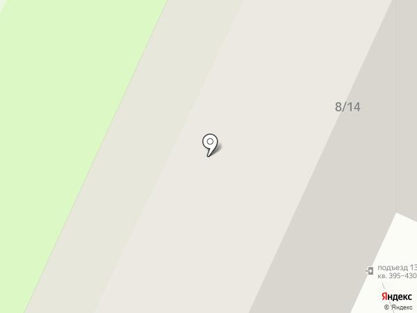 Домуправления-15 на карте Нижнекамска