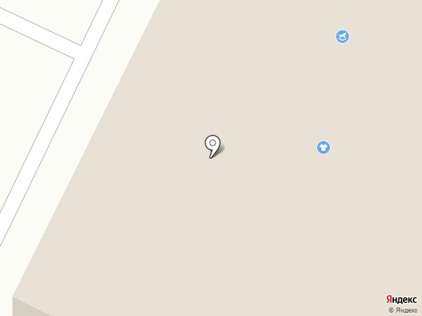 Мясная лавка на ул. Кайманова на карте Нижнекамска