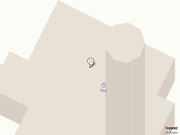 Мечеть на карте Нижнекамска
