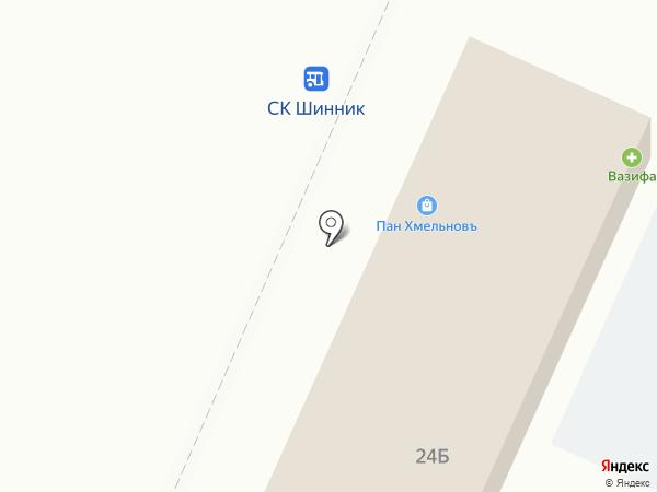 Удобные деньги на карте Нижнекамска