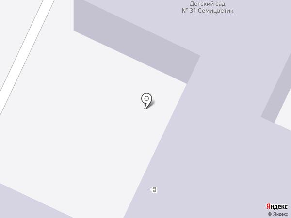 Детский сад №31, Игрушка на карте Нижнекамска