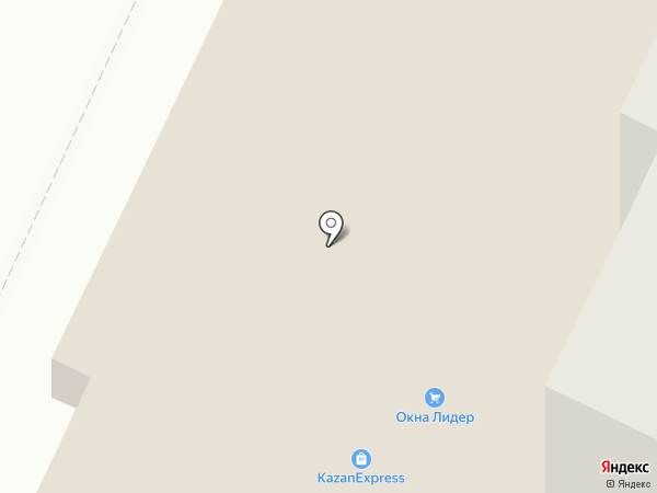 Фера на карте Нижнекамска