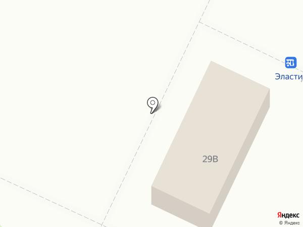 Казначей на карте Нижнекамска