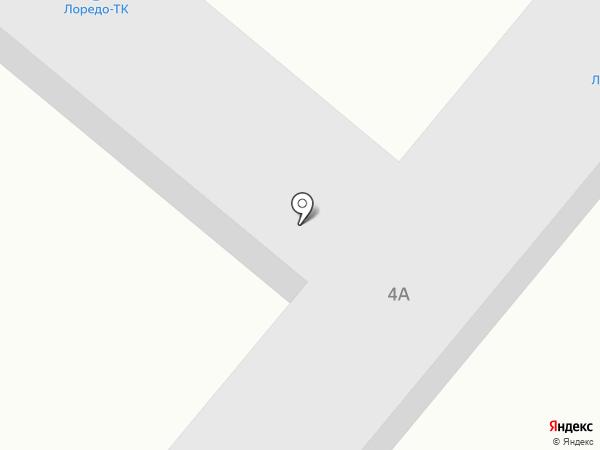 Лоредо-ТК на карте Нижнекамска