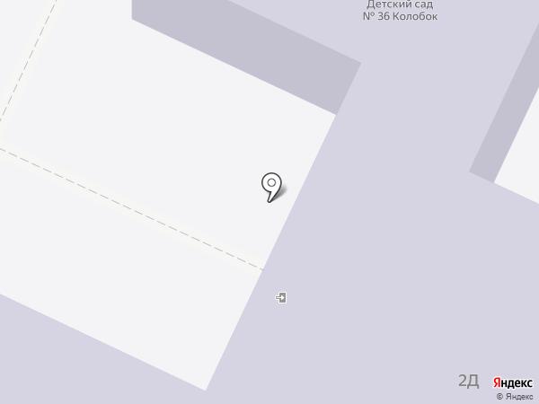 Детский сад №36, Колобок на карте Нижнекамска
