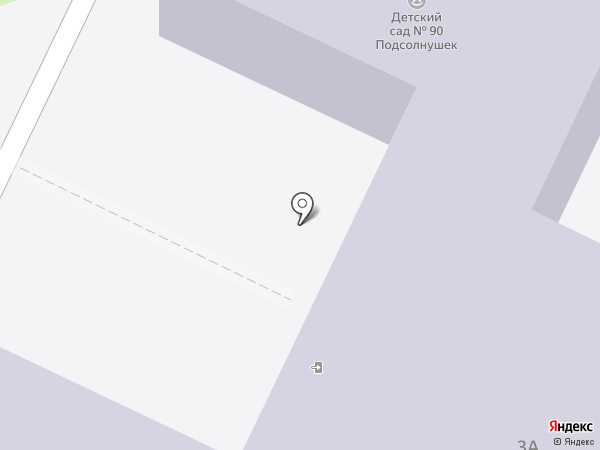 Детский сад №38 на карте Нижнекамска