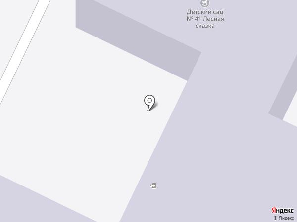 Детский сад №41, Лесная сказка на карте Нижнекамска