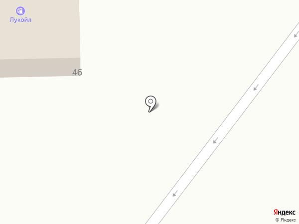 АЗС Лукойл на карте Нижнекамска