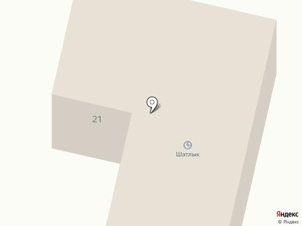 Шатлык на карте Елабуги