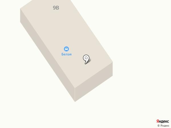 Белая на карте Елабуги
