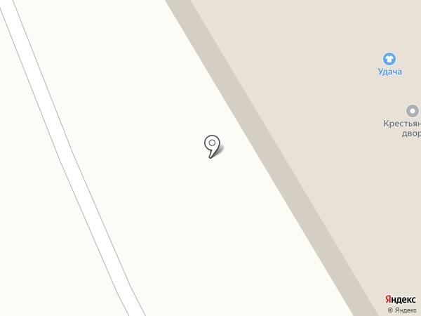 Крестьянский двор на карте Елабуги