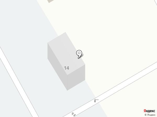 Авто М на карте Елабуги