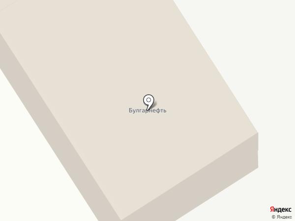 Булгарнефть на карте Елабуги