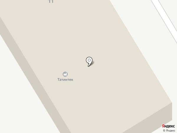 ТатАИСнефть на карте Елабуги