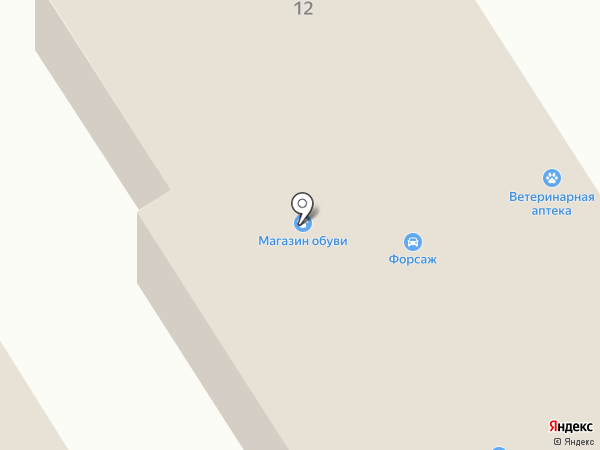 Ветеринарная аптека на карте Елабуги