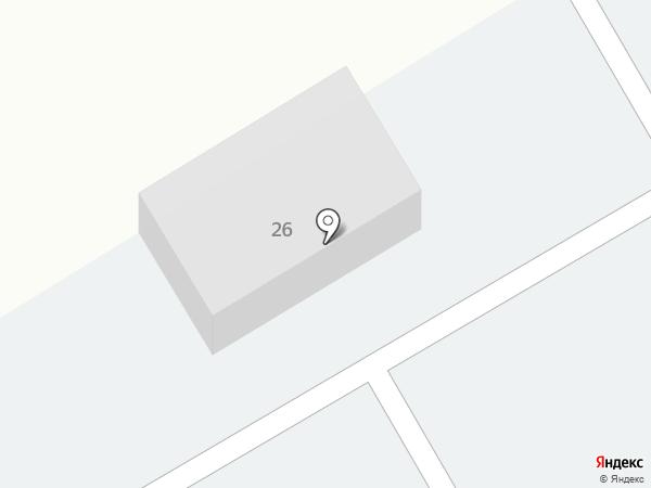 Автомастерская на Молодёжной на карте Елабуги