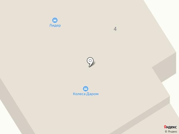 Лидер на карте Елабуги
