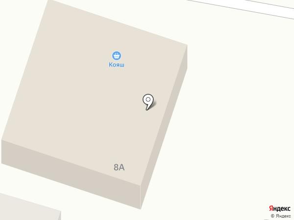 Кояш на карте Елабуги