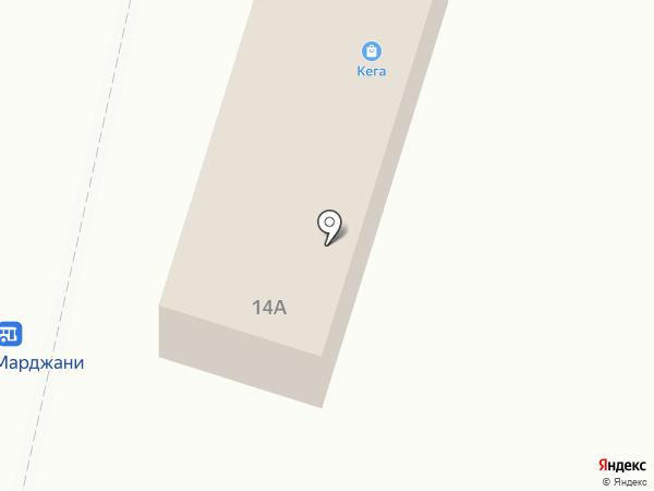 Рио на карте Елабуги