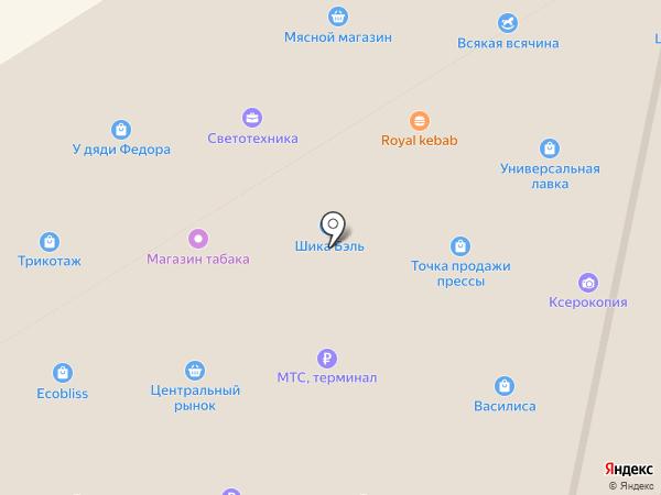 Платежный терминал, Совкомбанк на карте Елабуги