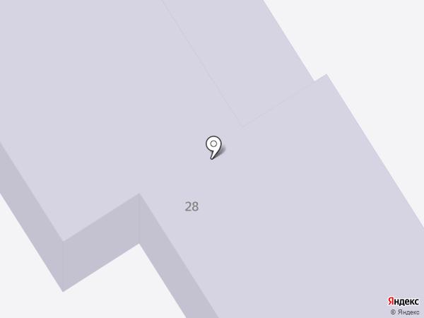 Детский сад №26, Семицветик на карте Елабуги