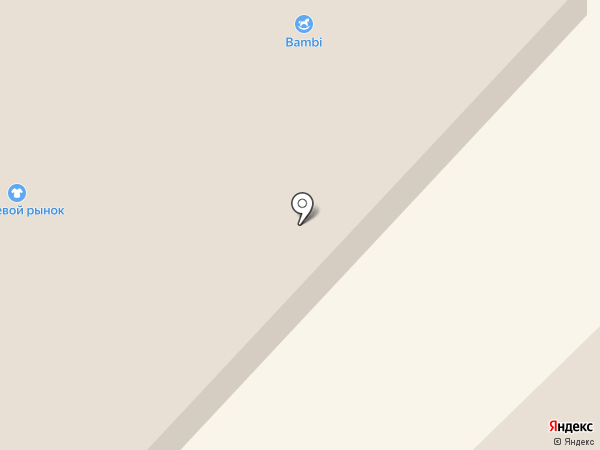 Бэмби на карте Елабуги