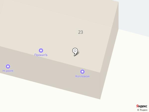 Крепость на карте Елабуги