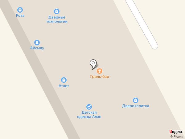 женский каприз на карте Елабуги