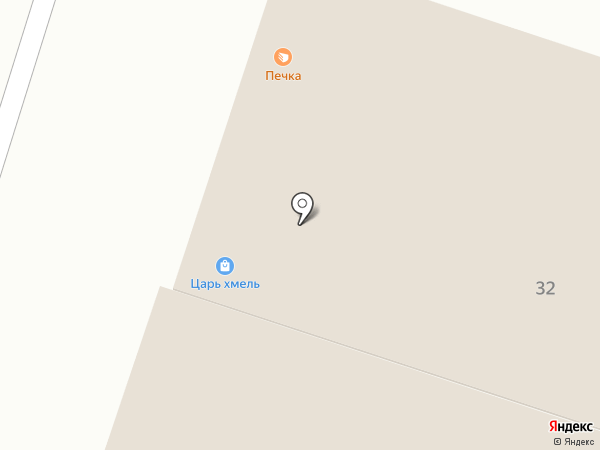 Царь-Хмель на карте Елабуги