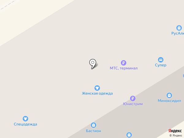 Фирма на карте Елабуги