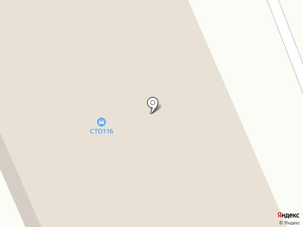 Автомойка на Черемушках на карте Елабуги