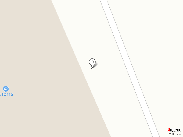 На Черемушках на карте Елабуги