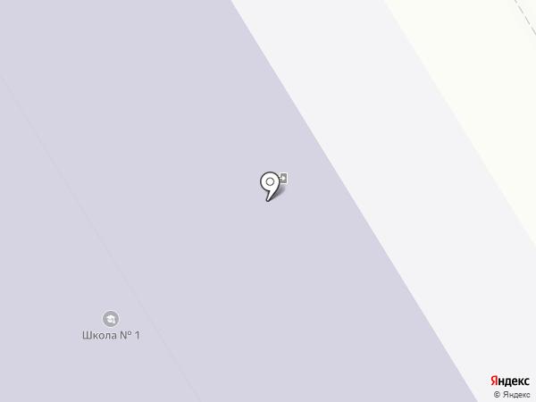 Средняя общеобразовательная школа №1 на карте Елабуги