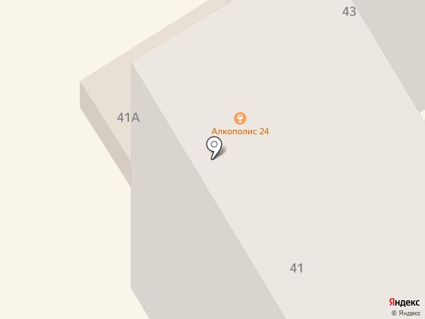 Махта на карте Елабуги