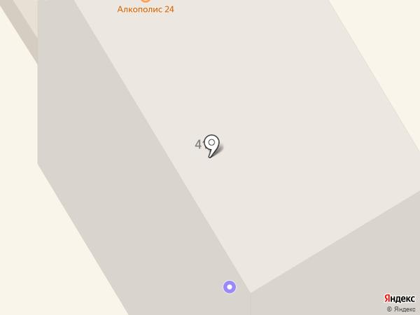Асония на карте Елабуги
