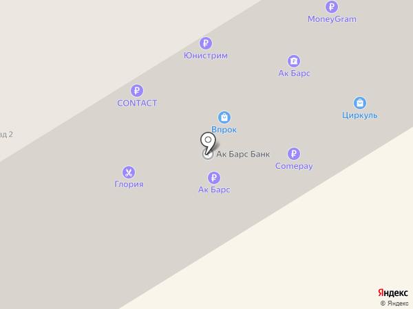 АК БАРС БАНК на карте Елабуги