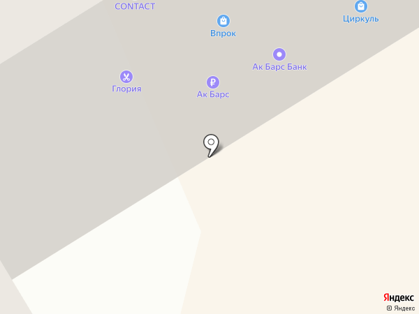 Данила Мастер на карте Елабуги