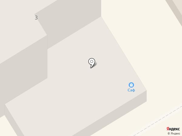 САФ Тюль-Ткани на карте Елабуги