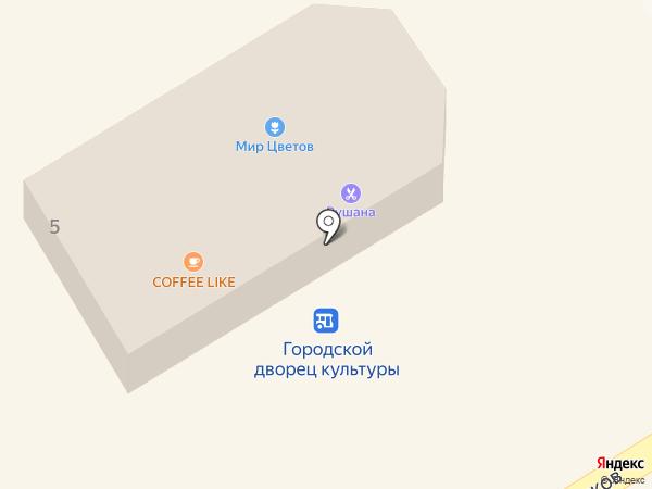 Салон на карте Елабуги