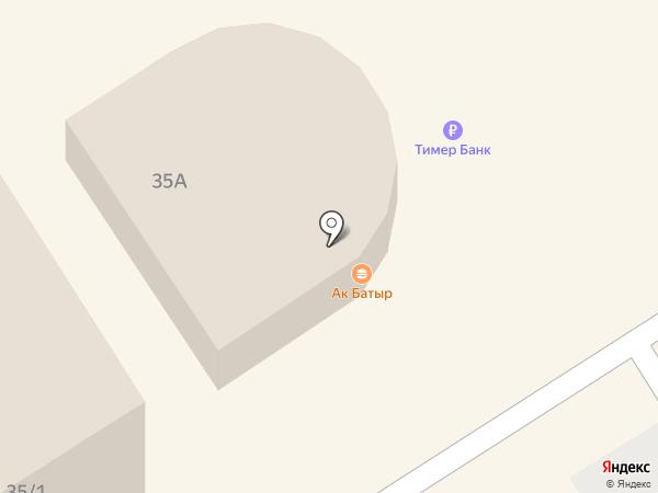 Ак Батыр на карте Елабуги