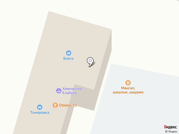 Маяк на карте Елабуги