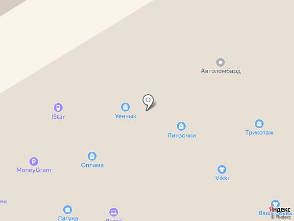 Мобилюкс на карте Елабуги
