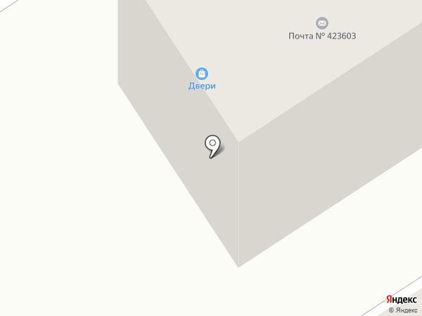 Кега на карте Елабуги