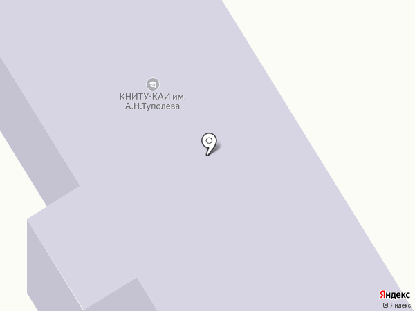 Елабужский политехнический колледж на карте Елабуги