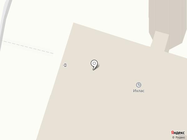 Ихлас на карте Елабуги