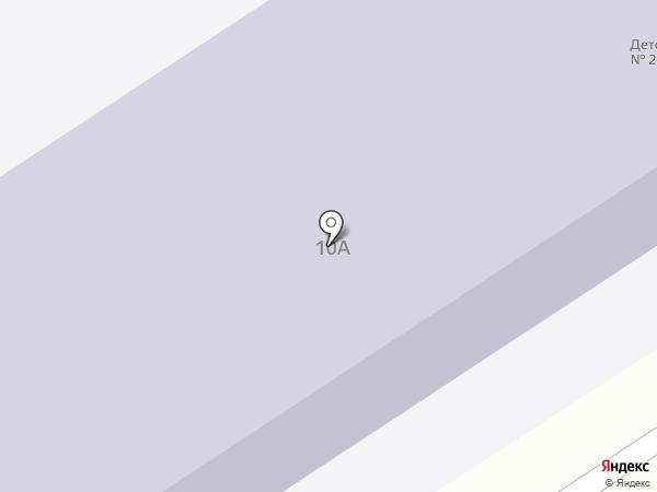 Детский сад №20 на карте Елабуги